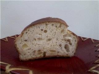 Хлеб имбирно-лимонный