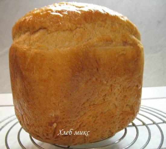 Хлеб микс на закваске