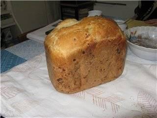 Moulinex. Белый хлеб с луком.