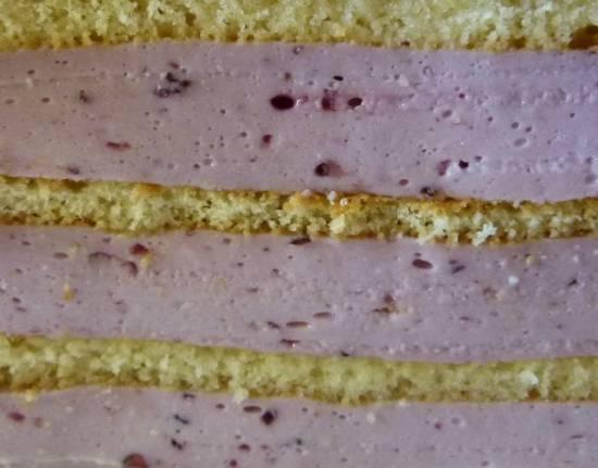 крем суфле для торта из йогурта рецепт