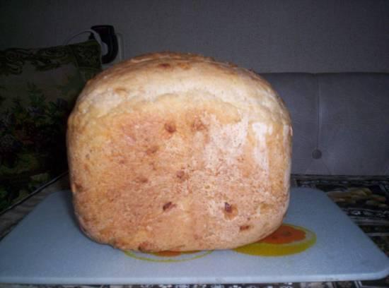 Хлеб с кедровыми орешками (хлебопечка)