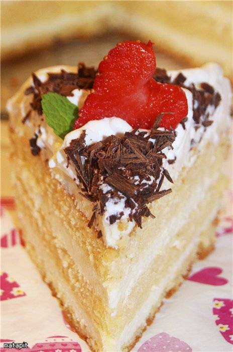 Торт Белый трюфель Tartufo Bianco (мастер-класс)