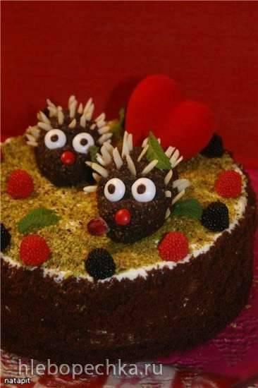 Торт Это любовь! (мастер-класс)