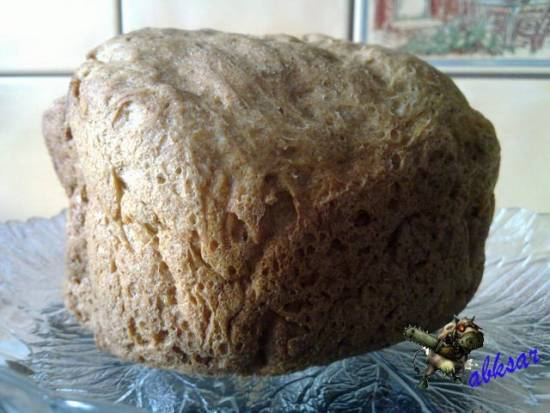 Пшеничный хлеб низкокалорийный с ржаными отрубями