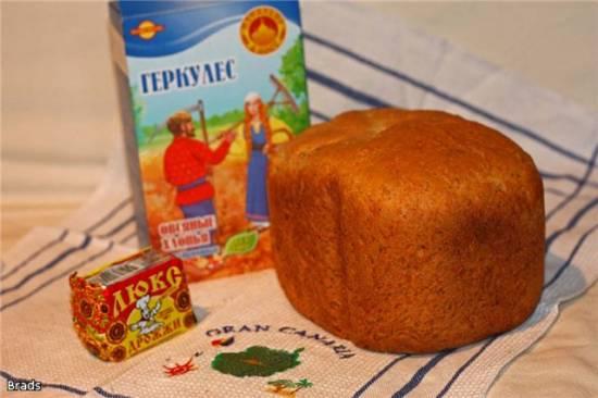 Овсяный хлеб на опаре