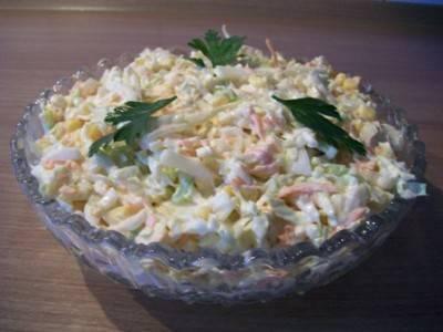 Салат из пекинской капусты Нежный