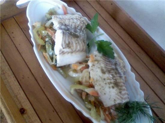 Рулеты  рыбные фаршированные овощами