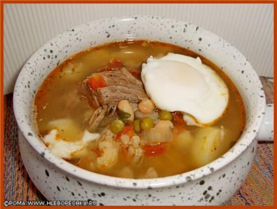 Вдовий суп (Вдовья похлебка)