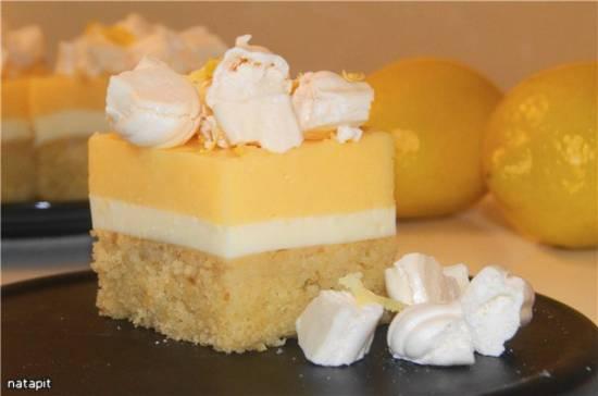 Пирожное Лимонная симфония