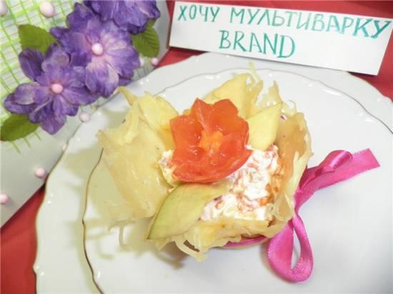"""Закуска """"Аленький цветочек"""""""