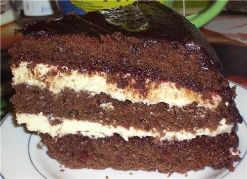 Шоколадно-свекольный бисквит (скороварка Brand 6050)