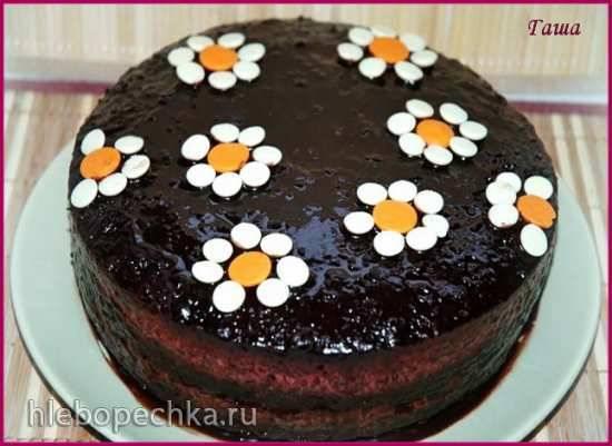 """Торт """"Шоколадно-смородиновый"""""""
