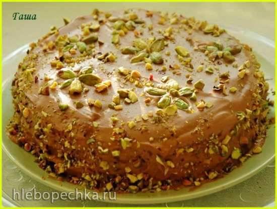 Ореховый торт Энгадин (Pecannusskuchen)