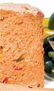 Хлеб со сладким перцем (хлебопечка)