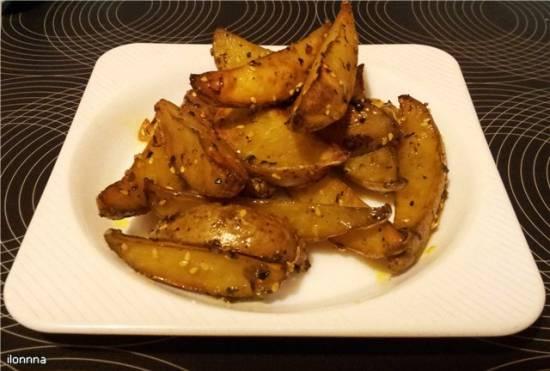 Картофель запеченный с корочкой «Несина картошка»