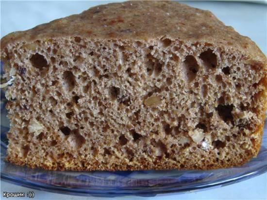 Пряничный хлеб в мультиварке Panasonic