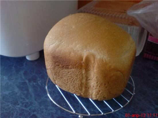 Хлеб простейший в мультиварке Panasonic