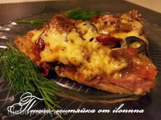 Пицца-лентяйка в мультиварке Panasonic SR-TMH18 LTW