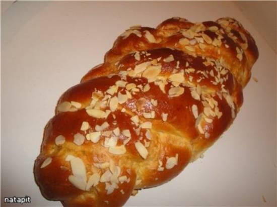 Греческий Пасхальный хлеб Цуреки