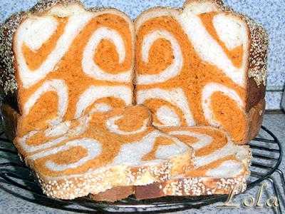 Хлеб  Рыжая завитушка  (хлебопечка)