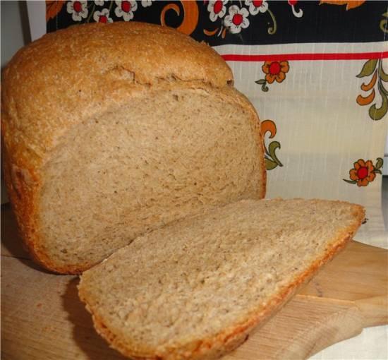 """Moulinex 2000. Хлеб ржано-пшеничный """"Скандинавский"""""""
