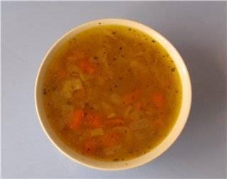 Суп гороховый