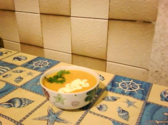 Тыквенный суп-пюре с сыром Тыквенный суп-пюре с сыром