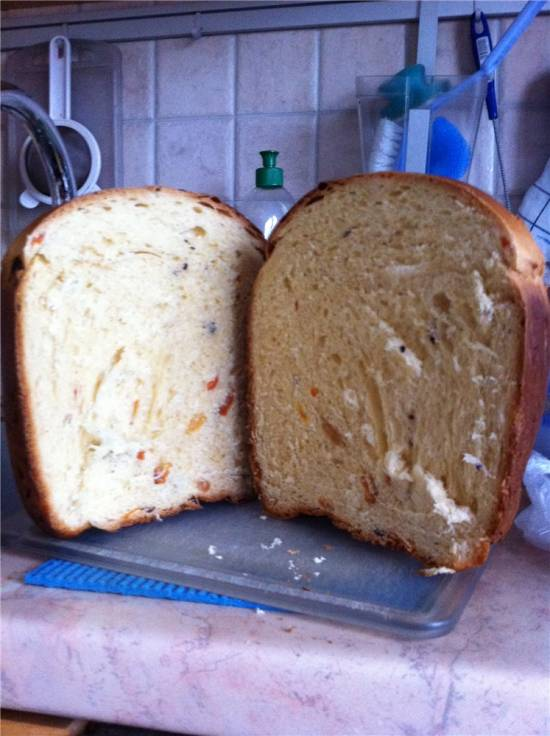 Кулич по рецепту к хлебопечке Tefal
