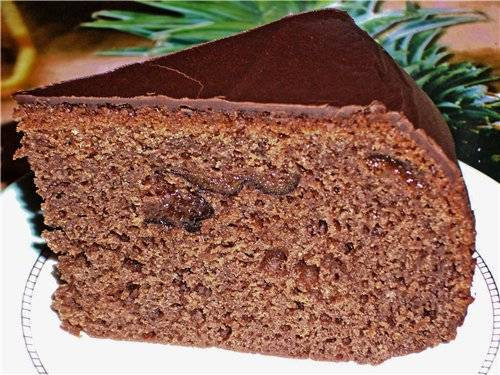 Шоколадный кекс крепостью 40 градусов