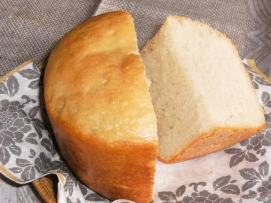 Французский хлеб с луком в хлебопечке (Автор Bulochka)