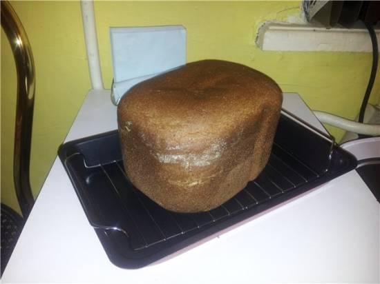 Хлеб пшенично-ржаной с медовым духом (хлебопечка Panasoniс 2500)
