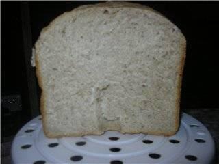 Крестьянский заквасочный хлеб в хлебопечке