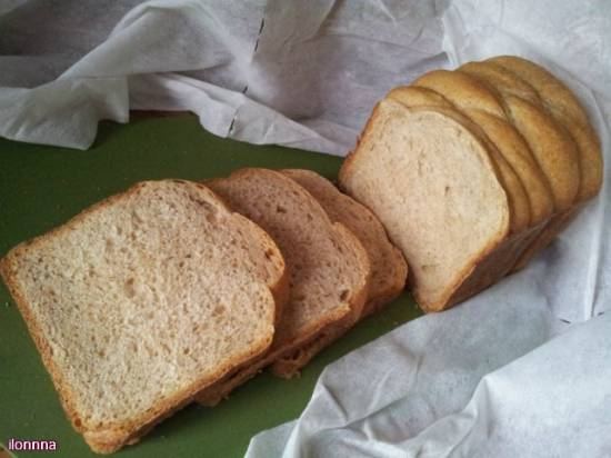 Пшеничный и ржаной хлеб «Настроение» в хлебопечке