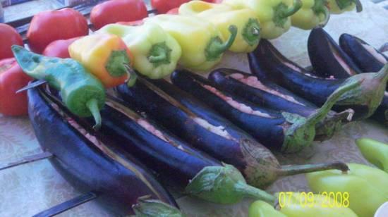 Салат Ленинаканский или овощной хоровац