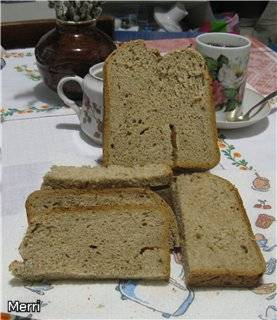 Чешский хлеб Шумава на пахте в хлебопечке