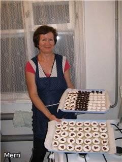 Линецкое печенье с начинкой
