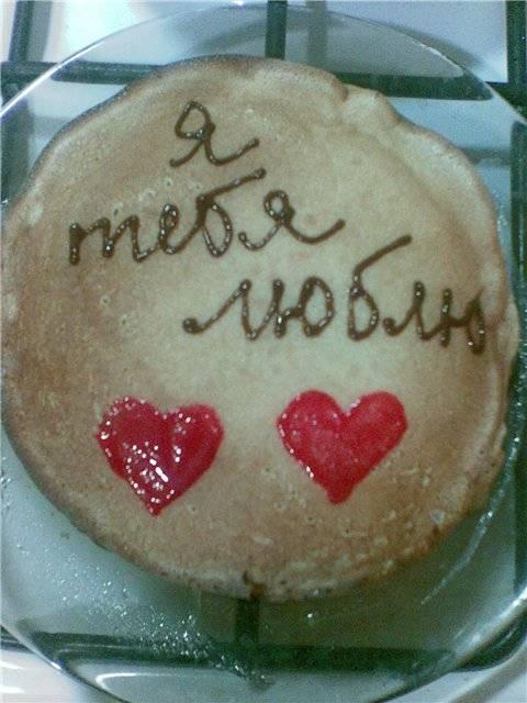 Блинный тортик Блинный тортик