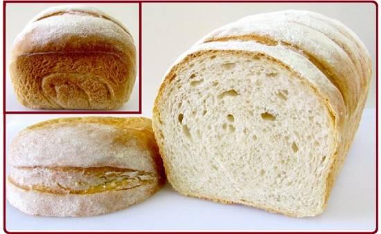 Мучной хлеб (духовка)