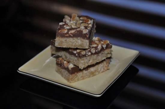 Шоколадные квадратики/Toffee Bars