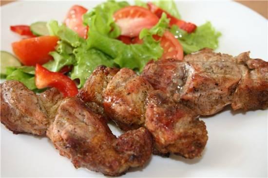 Шашлык свиной в чудо-гриль сковороде
