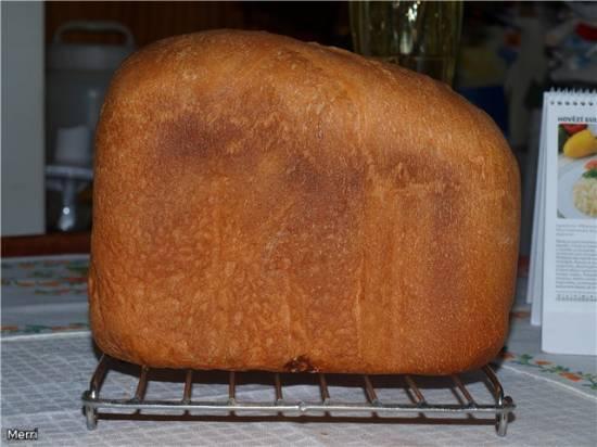 """Moulinex. Вариации на тему """"Базовый рецепт белого хлеба к хлебопечке Moulinex"""""""