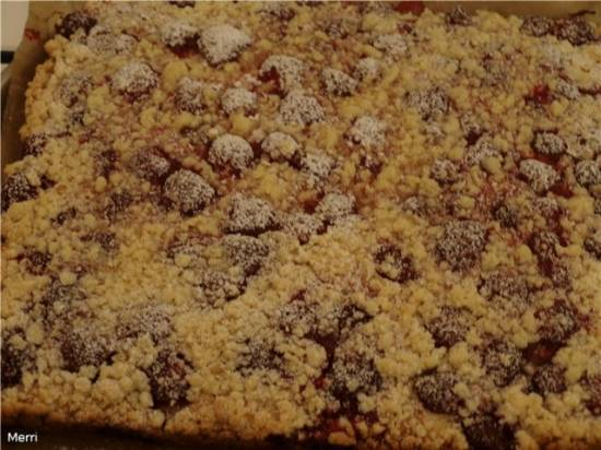 Чешский фруктовый пирог