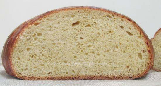 Яичный быстрый хлеб  в хлебопечке