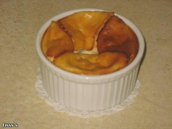Запеканка с ягодами или бананом