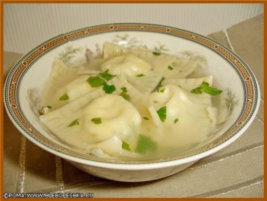 Кассателли (равиоли) из рикотты с сыром