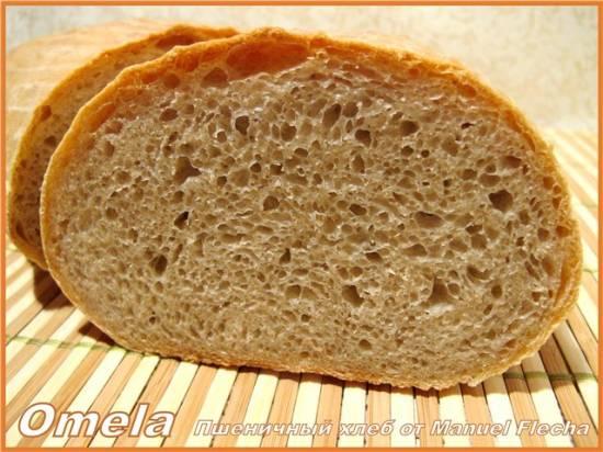 Пшеничный хлеб от Manuel Flecha (духовка)
