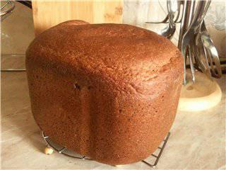 Ржаной хлеб: два рецепта ржаного хлеба (хлебопечка)