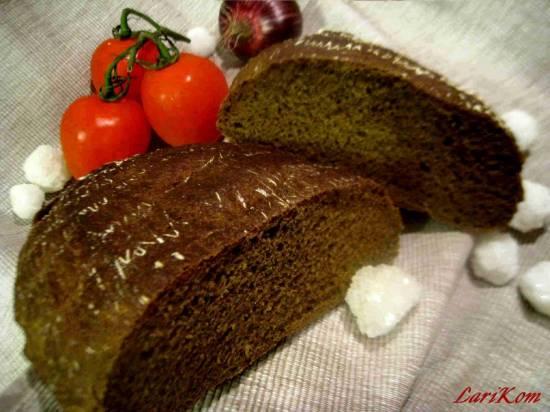 Ржано-пшеничный хлеб со снытью