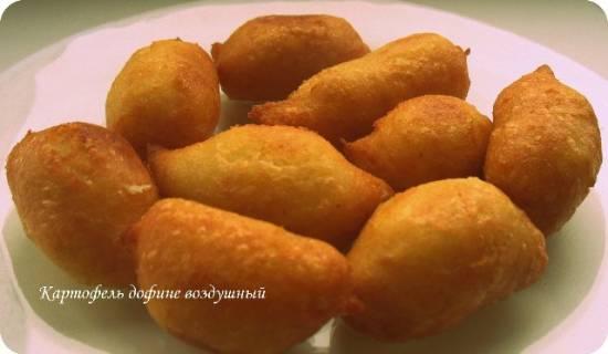 Воздушный картофель дофинэ