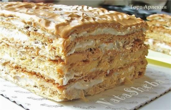 """Разрезы тортовТорт """"Арлекин"""" (Harlequin Cake)"""